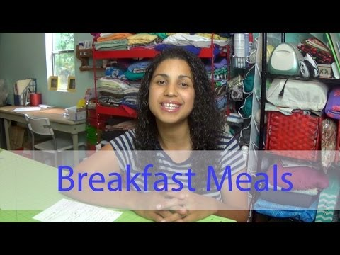 Weight Loss Wednesday- Episode #7: Breakfast meals