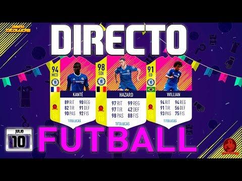 FIFA 18    DIRECTO PACK OPENING +40 SOBRES BUSCANDO CARTAS FUTBALL    TITOLUCAS