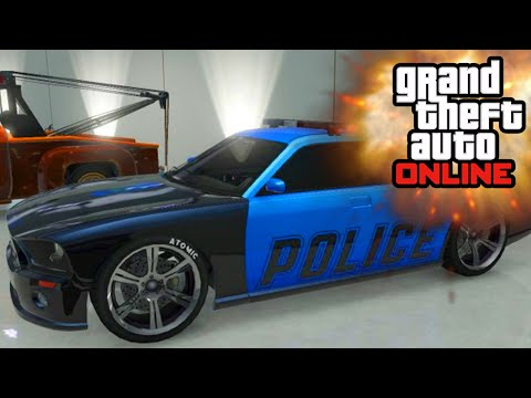 GTA 5 - MODDED EXPLODING CARS!? (GTA 5 Online Mods)
