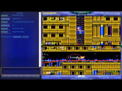 Sonic the Hedgehog 2 - Vizzed Netplay Tournament - mvhupsel VS earthwarrior - User video