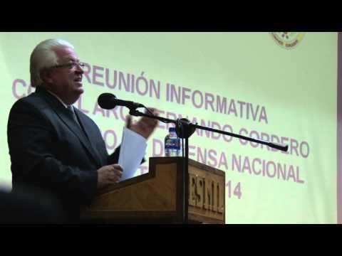 Dialogo de Ministro Cordero con FF.AA.