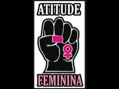 atitude feminina - rosas