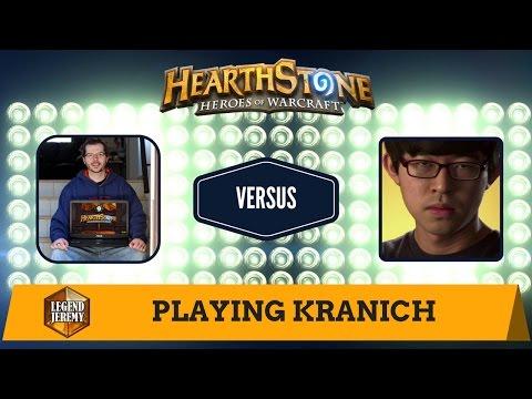 [Hearthstone] Playing Kranich (2x Blizzcon HCT Championship player)