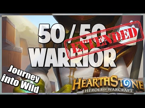50/50 Warrior | Extended Gameplay | Hearthstone | Kobolds and Catacombs