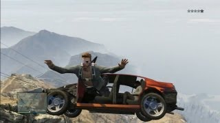 "GTA 5 : Fun Things To Do In Multiplayer ""Climbing Mount"