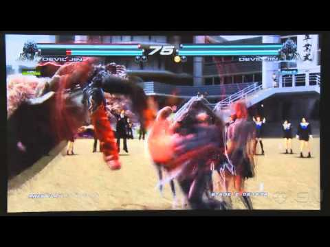 Tekken Tag Tournament 2 Prologue - Devil Jin Gameplay