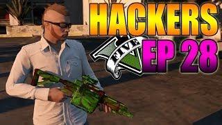 Hackers En GTA V Online #28 Camuflaje Marihuana Y Lava