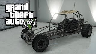 "GTA 5 ONLINE : Spawn Location ""Frame Only Dune Buggy"" - Rare & Secret Vehicles"