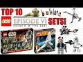 Top 10 BEST LEGO Star Wars Episode 6 Sets Return Of The Jedi