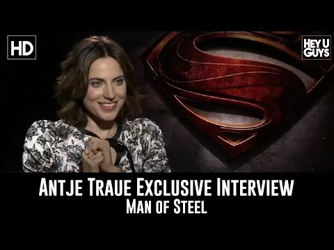 Antje Traue Exclusive Interview - Man of Steel