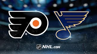 Neuvirth, Flyers shut out the Blues in St. Louis