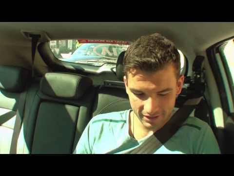 Grigor Dimitrov: Kia Open Drive - 2014 Australian Open