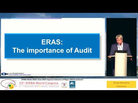 SS01.3 IHPBA Meets ERAS: Does ERAS Improve Outcome of Major HPB Procedures?