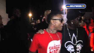 chanel-: Soulja Boy spends a night out at Colony nightclub