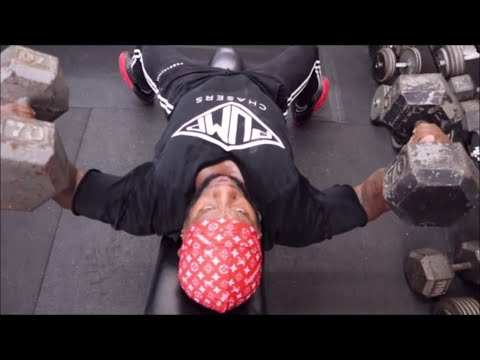 Chest Day @KRB Gym In Texas  | How To Put On Some Quality Muscle (Like Whoa!)