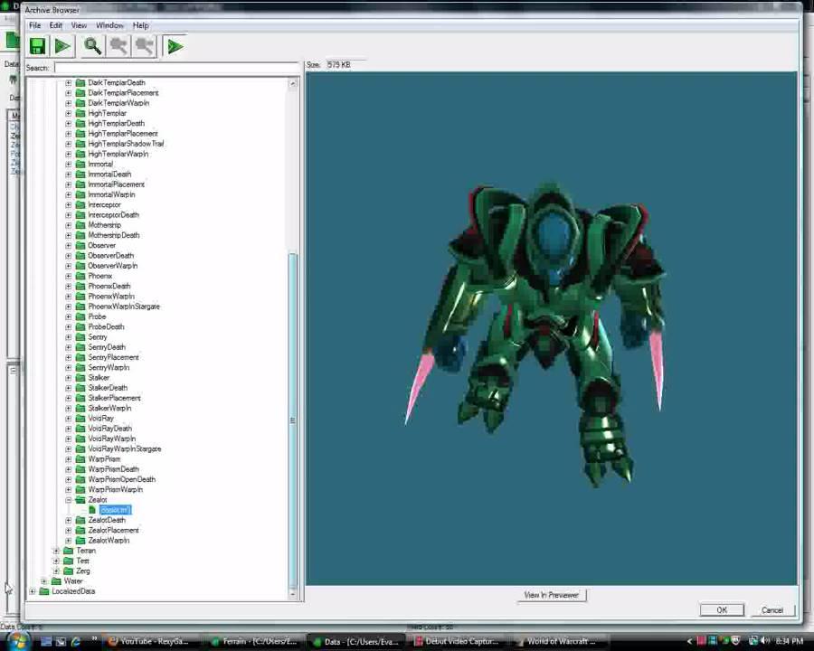 how to add custom 3d model warcraft 3