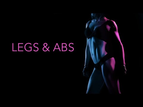 ABS and LEGS WORKOUT (With Resistance Bands!)