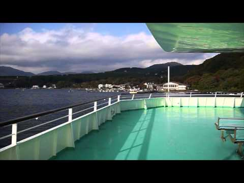 Rumiko Varnes in Hakone Cruise Boat Narration