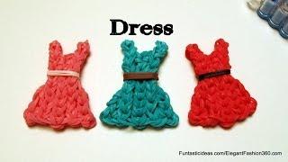 Rainbow Loom Dress Emoji/emoticon Charm How To Mother