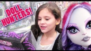 KITTIESMAMA, DOLL HUNTERS!   Hunting for Monster High Catrine DeMew, Werecat Fearleaders, & Duece!