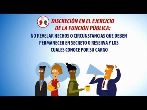 DISCRECIÓN EN EL EJERCICIO DE LA FUNCIÓN PUBLICA