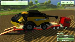 FARMING SIMULATOR 2013 NEW TEST MODS TRASPORTO MEZZI