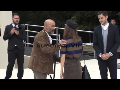 Tali Lennox at Burberry Prorsum: London Fashion Week Spri...