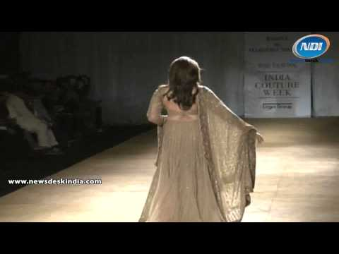 SRMJ India Couture Week 2014: Huma Qureshi on Ramp
