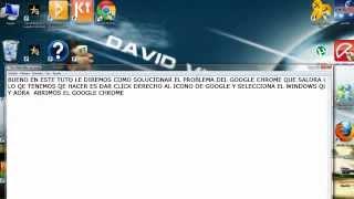 Como Solucionar El Problema De Google Chrome (0xc00000a5