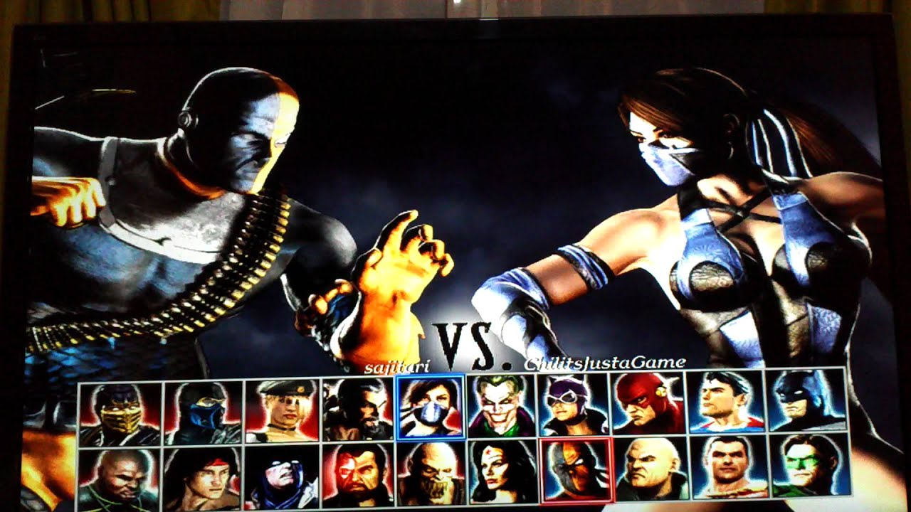 Mortal kombat vs dc universe catwoman and  pornos films