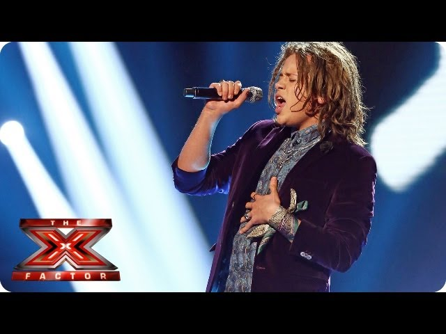 Luke Friend sings Every Breath You Take by The Police - Live Week 1 - The X Factor 2013
