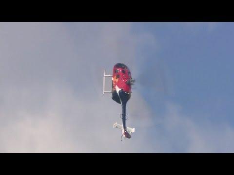 F1 Driver Mark Webber Does Helicopter Backflip!