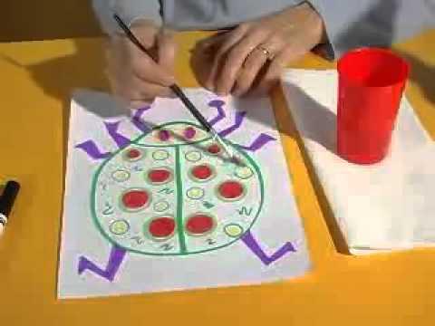 Zmywalne markery - Inspiracje Crayola
