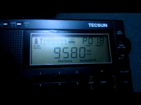 China Radio International on my Tecsun PL-600