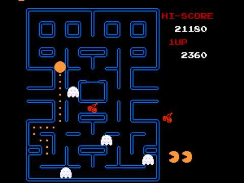 Pac-Man (Tengen) - Failing Twice on Pacman - User video
