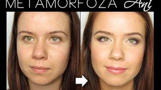 Metamorfoza Ani - Prosty makijaż dzienny