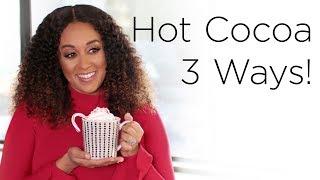 Tia Mowry's Hot Chocolate Recipes For The Holidays | Quick Fix