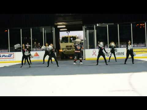 Crush Dancers - Corpus Christi IceRays (March 28, 2014)