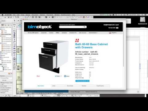 Tip for the BIMobject® App for ArchiCAD