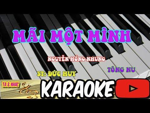 Mai Mot Minh karaoke karafun beat Nu