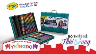Đồ chơi bút màu Crayola - Bộ thiết kế thời trang Crayola