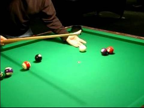 How to Play 8-Ball : Safety Shots in Billiards