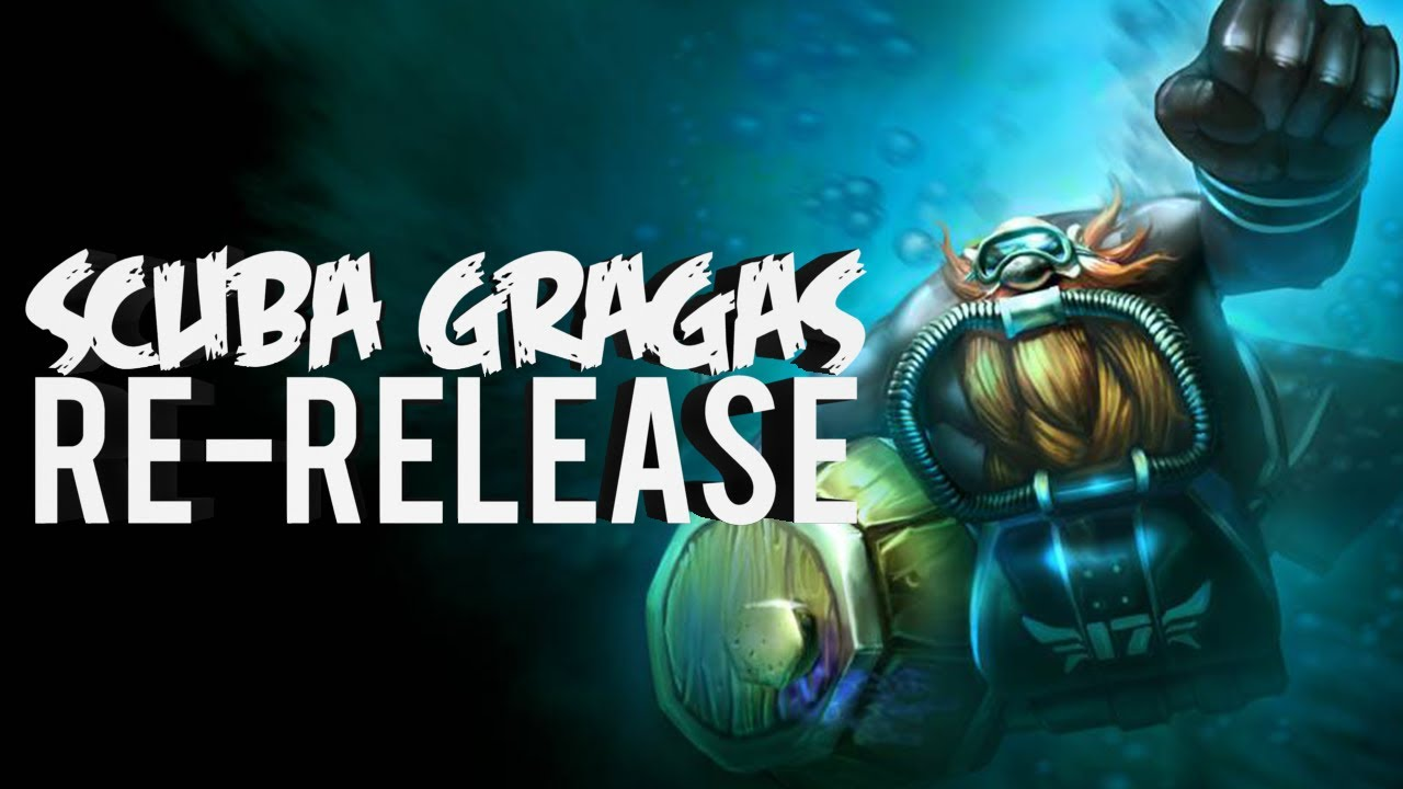 league of legends scuba gragas re release ownage youtube