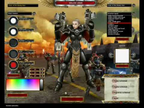Warhammer 40k Dawn Of War - Dark Crusade - 4 New Races ...