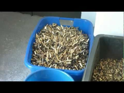 Sorting brass for reloading with the