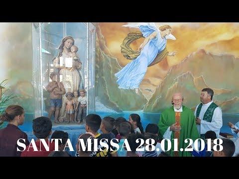 Santa Missa | 4° Domingo do Tempo Comum | 28.01.2018 | Padre José Sometti | ANSPAZ