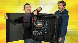 Building in Corsair's BIGGEST Case EVER - Corsair Slate Worldwide Exclusive!