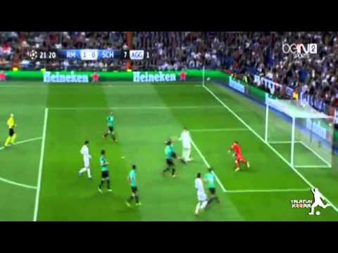 Real Madrid vs Schalke 3-1 Cristiano Ronaldo Incredible Goal vs Schalke 18.03.2014 HD