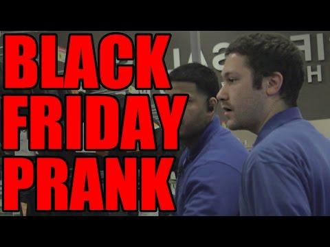 Black Friday PRANK!