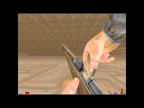 Zdaemon Eastern Front mod: G41 rifle and prone/crawl physics
